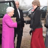 The Queen attends Jane Austen talk